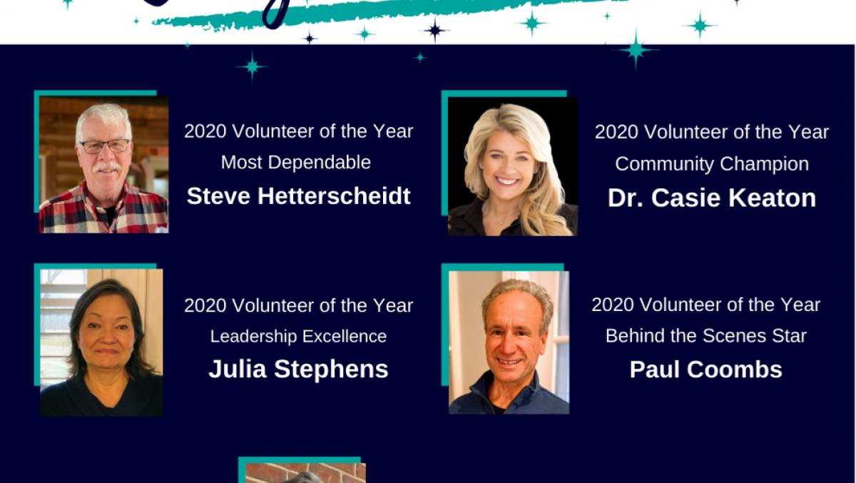 2020 Volunteer Award Congratulations Video